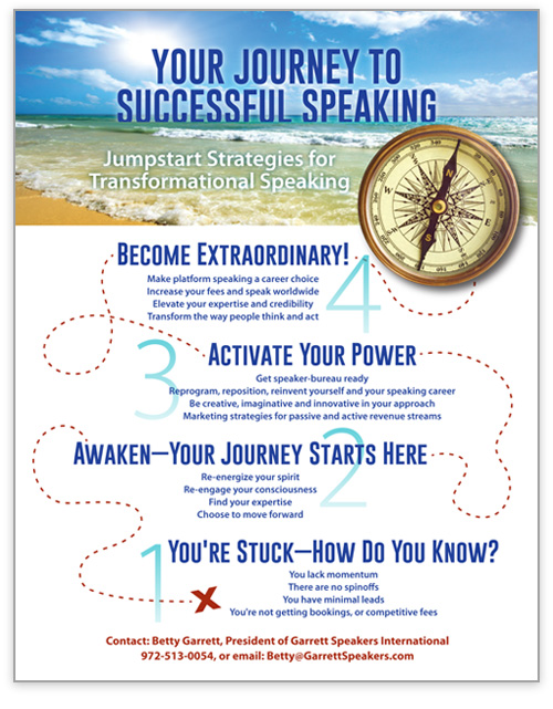 BettyGarrett_OnePager_SpeakerJourney